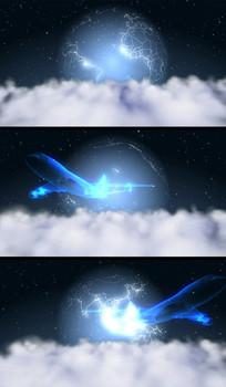 地球科技飛機航空視頻片頭