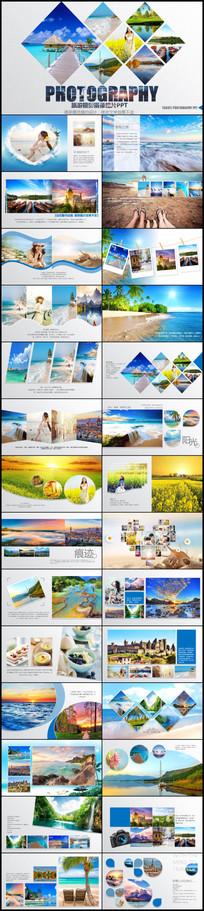 旅游摄影摄像相册PPT