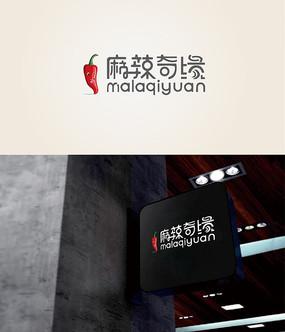 麻辣燙logo