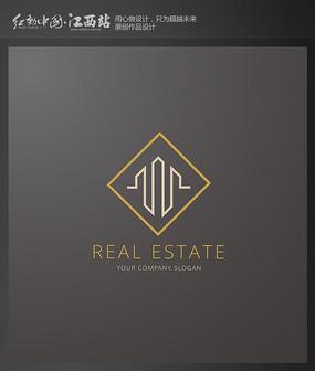 简约地产建筑标志