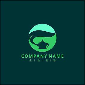 茶壶 茶叶 茶业 标志 logo CDR