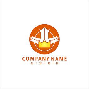 枫叶 皇冠 投资 标志 logo