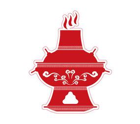 火鍋鏤空圖案
