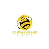蜜蜂 标志 logo