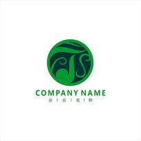 农业 字母T 农作物 标志 logo