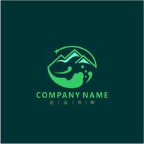 山峰 旅游 集团 标志 logo