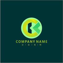 字母K 农业 农作物 标志 logo