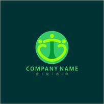 字母T 医药 医院 标志 logo