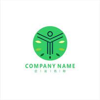 字母Y 农产 林业 标志 logo