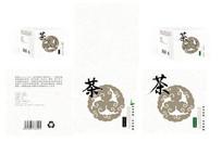 白色茶包装设计