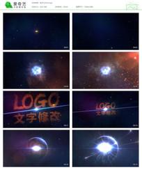 LOGO粒子汇聚效果包装