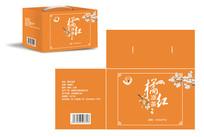 橙色凉茶包装设计