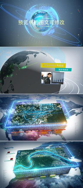 中国科技地图