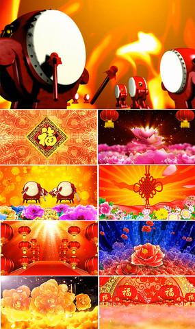中國紅素材