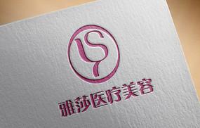 美容院logo设计 AI
