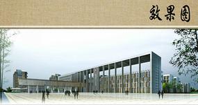 医院建筑设计效果图