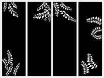 花叶盛世雕刻图案