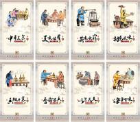 传统火锅文化挂图