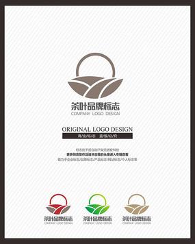 古蕴茶叶茶业茶器企业标志设计 CDR