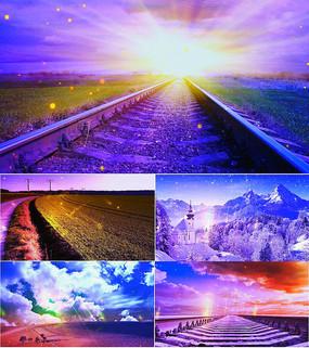 乐曲天空之城舞台背景视频