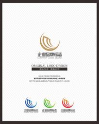 月亮家纺品牌商业标志设计