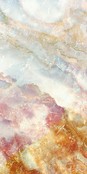 大浪淘沙天然大理石纹玄关