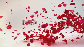 婚禮視頻logo展示ae模板
