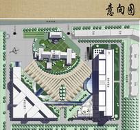医院病房楼方案设计平面图