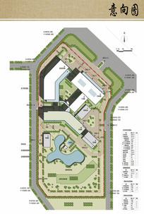 医院规划设计总平面