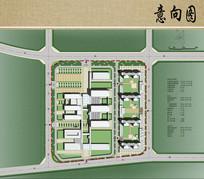 医院建筑平面布局图