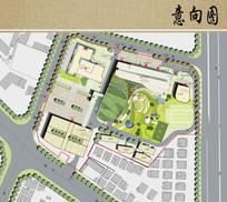 医院总体规划平面图