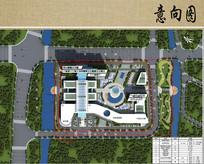 医院总体规划设计平面布局图