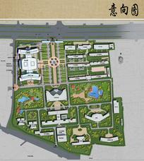 医院总体规划总平面图
