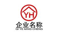 字母YM地产商务logo