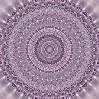 圆形欧式花纹图案