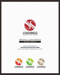 贸易公司现代标志设计