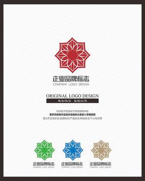 商业服务中国风标志设计