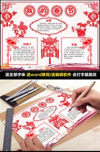 春节小报新年手抄电子小报