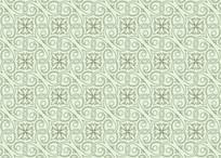 欧式花叶纹理图案
