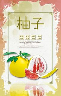 美味柚子海报