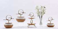 新中式花瓶装饰素材