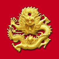 中国龙分层图素材