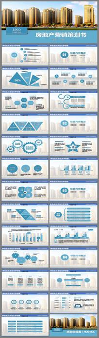 房地产营销策划书PPT模板