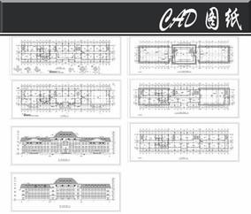 多层办公楼建施工图