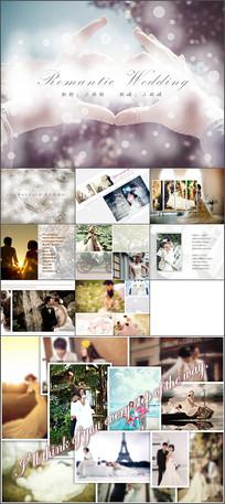 婚纱照相册PPT