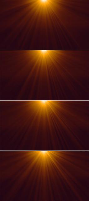 金色光芒背景视频