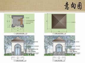 四角亭設計方案 JPG