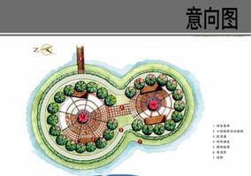 圓形小廣場剖面圖 JPG