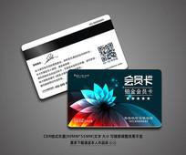 创意大气VIP积分卡模板