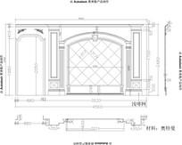 欧式线条护墙板